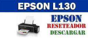 Descargar programa para resetear impresora Epson L130