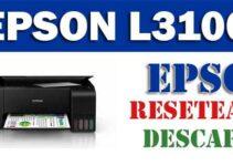 Descargar programa para resetear impresora Epson L3100