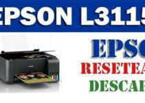 Descargar programa para resetear impresora Epson L3115