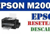 Descargar programa para resetear impresora Epson M200