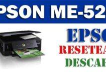 Descargar programa para resetear impresora Epson ME Office 520