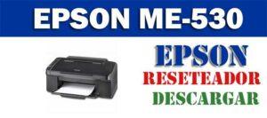 Descargar programa para resetear impresora Epson ME Office 530