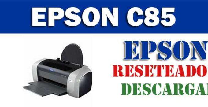 DESCARGAR PROGRAMA PARA RESETEAR IMPRESORA EPSON C85
