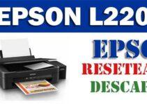 Descargar programa para resetear impresora Epson L220