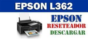 Descargar programa para resetear impresora Epson L362
