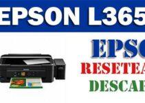 DESCARGAR PROGRAMA PARA RESETEAR IMPRESORA EPSON L365