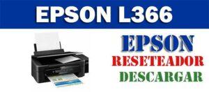 Descargar programa para resetear impresoraEpson L366
