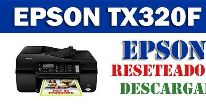 Descargar programa para resetear impresora Epson Stylus Office TX320 F